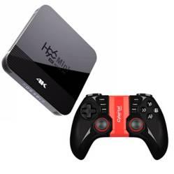 ATP - Combo Android TV Box Bluetooth con 34 juegos de PS1