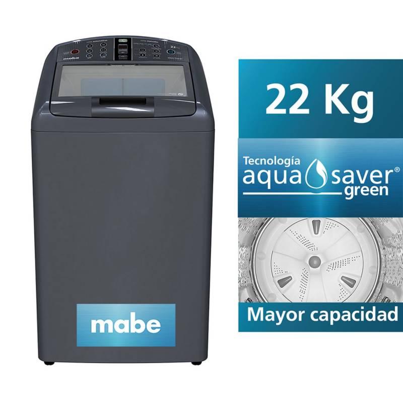 MABE - Lavadora Mabe Diamond Gray  22 kg