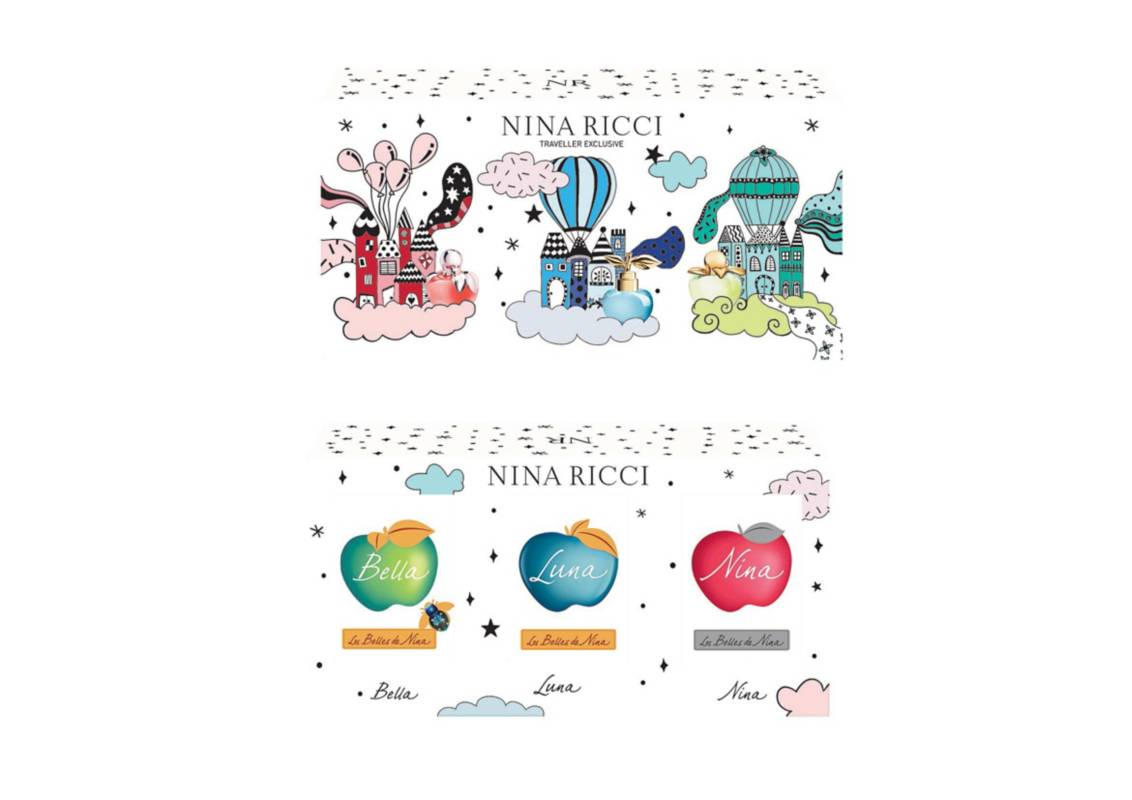 NINA RICCI - Nina Ricci miniaturas