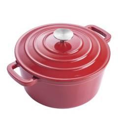 MAGEFESA - Olla Ferro Rojo 26 cm