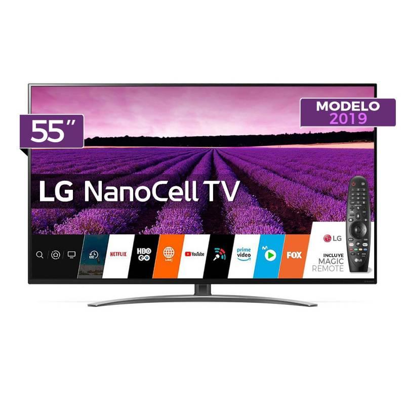 "LG - Televisor LED NanoCell Smart TV 4K UHD 55"" 55SM8100 + Control Magic"