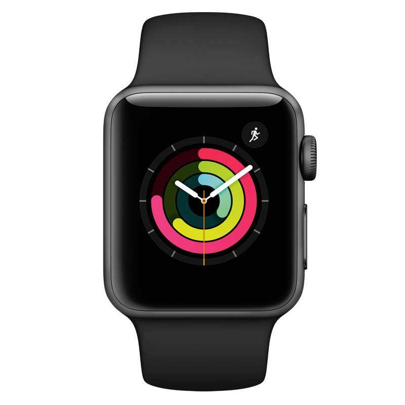 APPLE - Apple Watch S3 38mm Negro
