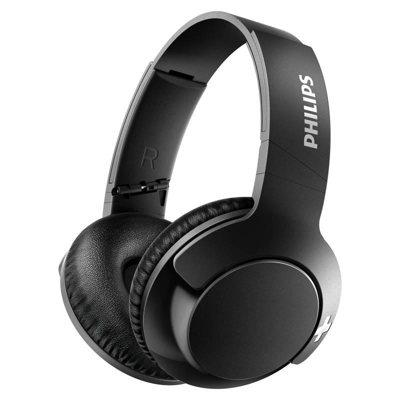 PHILIPS - Audifonos Bluetooth con Microfono Bass+ SHB3175WT Blanco