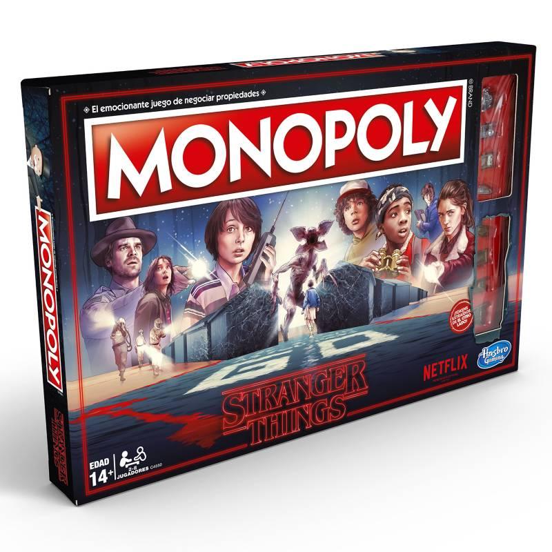 HASBRO GAMES - Monopoly Stranger Things