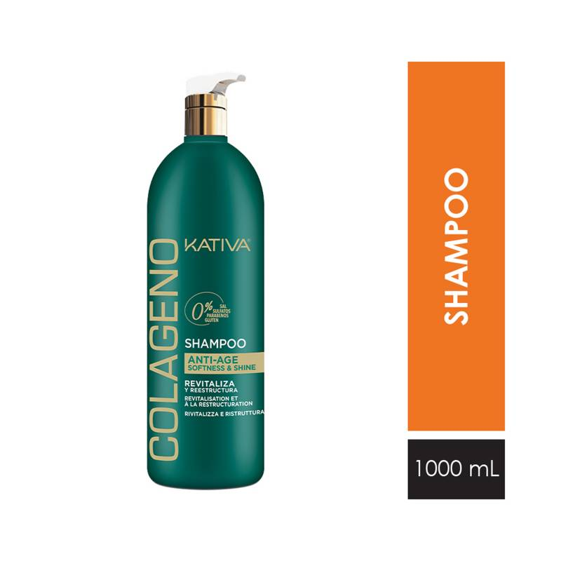 KATIVA - Kativa Colageno Shampoo 1000 ml