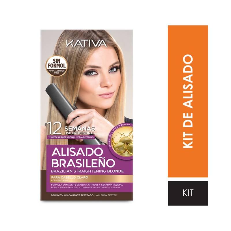 KATIVA - Kit Kativa Alisado Brasileño St