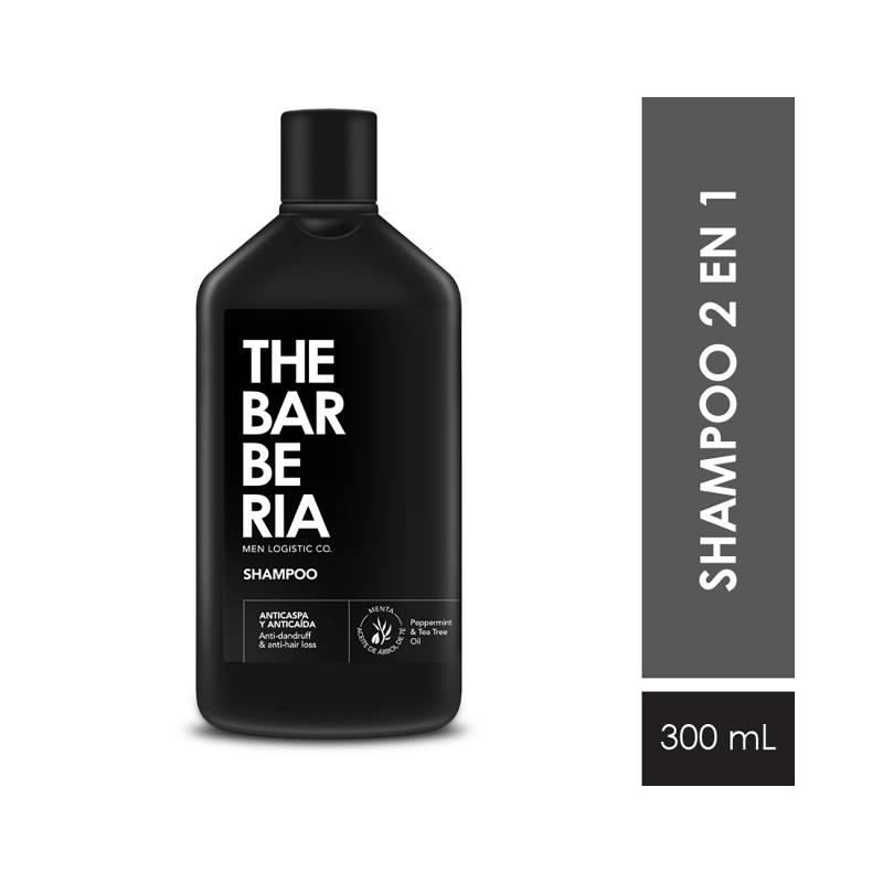 The Barberia - Shampoo anticaspa y anticaída