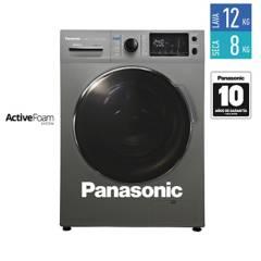 PANASONIC - Lavadora y Secadora 12 KG S128F2 Gris