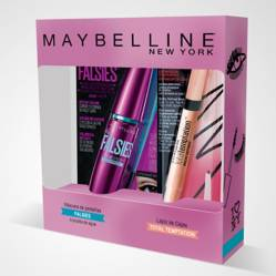 Pack Máscara de Pestañas Falsies + Delineador de Cejas Total Temptation Maybelline