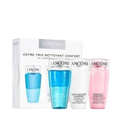 LANCÔME - Set de limpieza: tonique confort 75ml + galateé confort 75ml + bi-facil 75ml