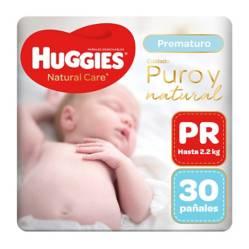 HUGGIES - Pañales Natural Care Prematuro x 30