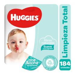 HUGGIES - Toallitas Húmedas One & Done x 184