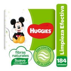 HUGGIES - Toallitas Húmedas Limpieza Efectiva x 184
