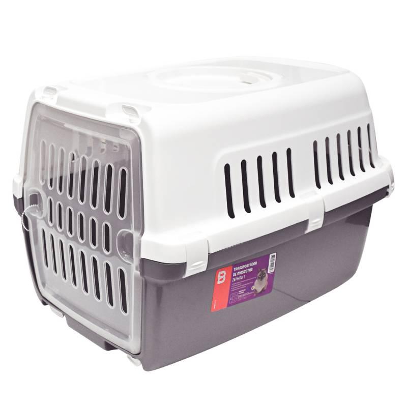 BASA - Transportador de Mascotas Zephos1 Gris