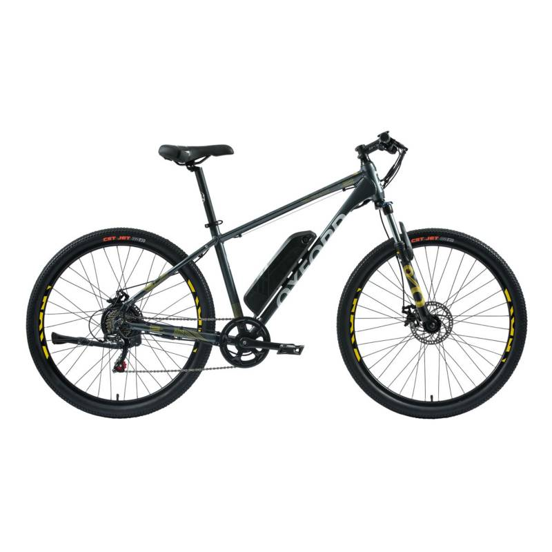 OXFORD - Bicicleta Hombre S Freeway Grafito/Amarillo - 27.5
