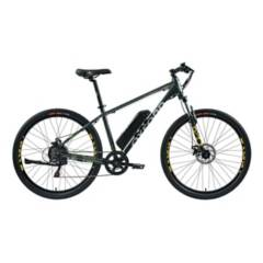OXFORD - Bicicleta Hombre L Freeway Grafito/Amarillo - 27.5