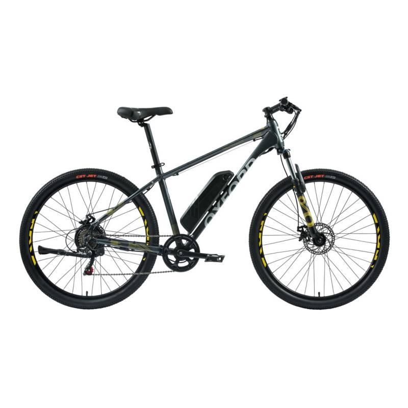 OXFORD - Bicicleta Hombre L Freeway Grafito/Amarillo - 27.5