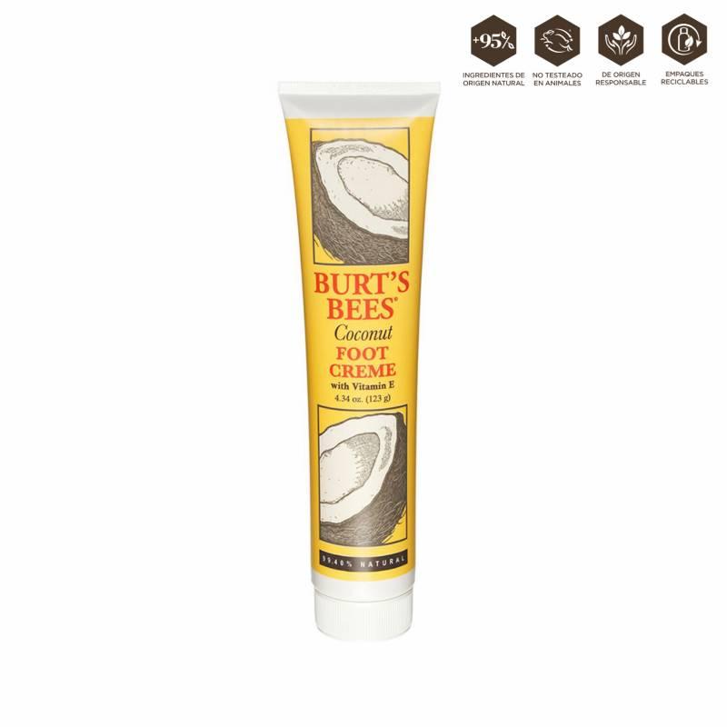 BURT´S BEES - Foot Cream - Coconut  4.34 Oz  (123g)