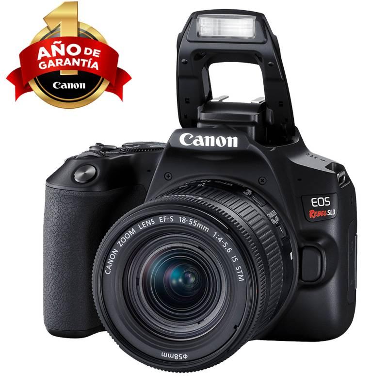 CANON - Camara Canon Eos Sl3 Con Lente Ef-S 18-55mm Is Stm