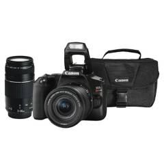CANON - Combo 54 (Camara Canon Sl3 - Lente 18-55mm + Ef 75-300mm + Maletín)