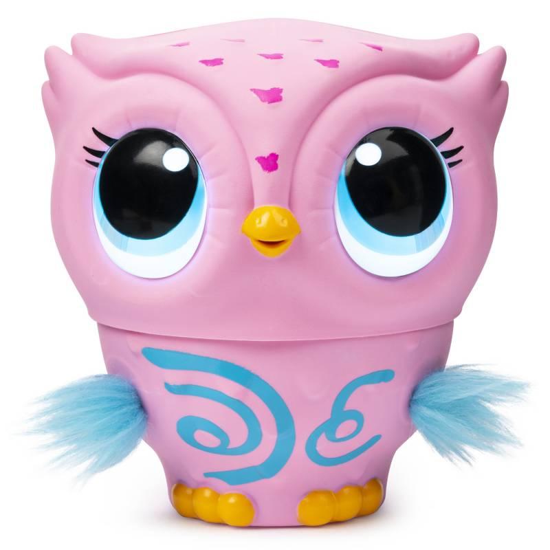 Owleez - Búho Bebé Rosado