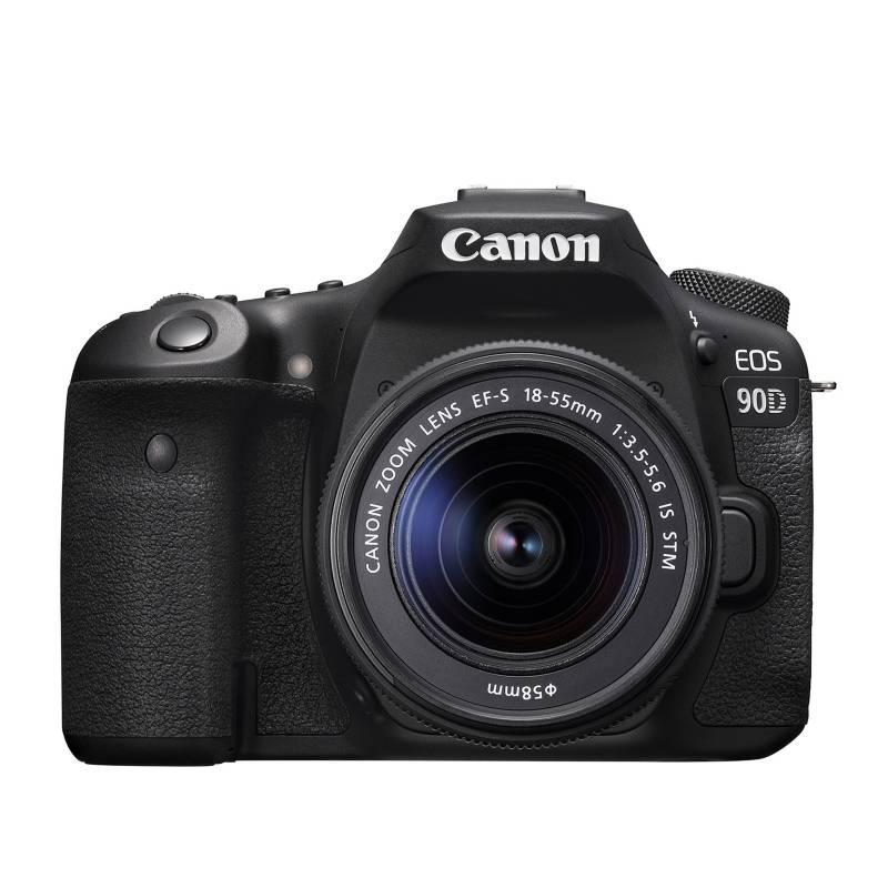 CANON - Camara Canon Eos 90d(W) Ki8t Con Lente Ef-S 18-55mm Is Usm