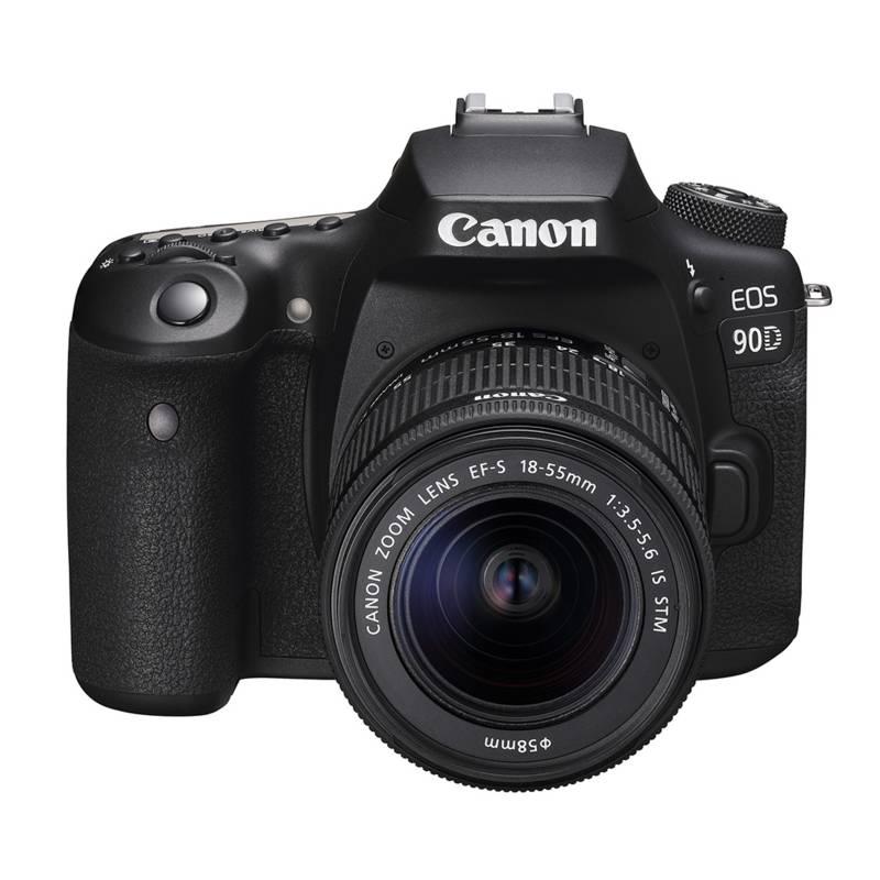 CANON Camara Canon Eos 90d(W) Ki8t Con Lente Ef-S 18-55mm Is Usm -  Falabella.com