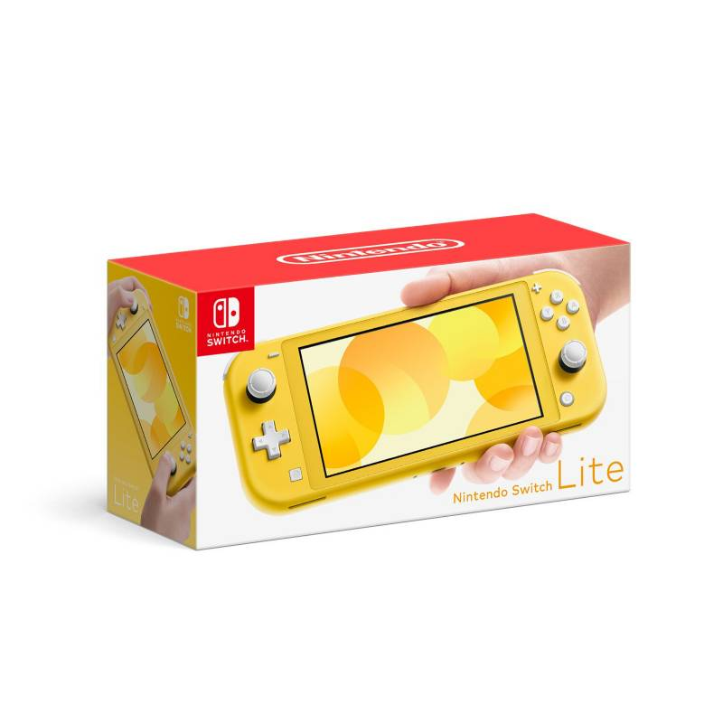 NINTENDO - Consola Nintendo Switch Lite Amarillo 32 GB