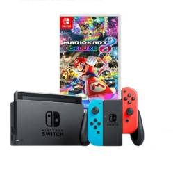 Consola Nintendo Switch Neon 2019 32GB+ Mario Kart