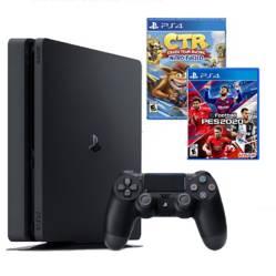 Consola PS4 Slim 1TB + 2 Videojuegos