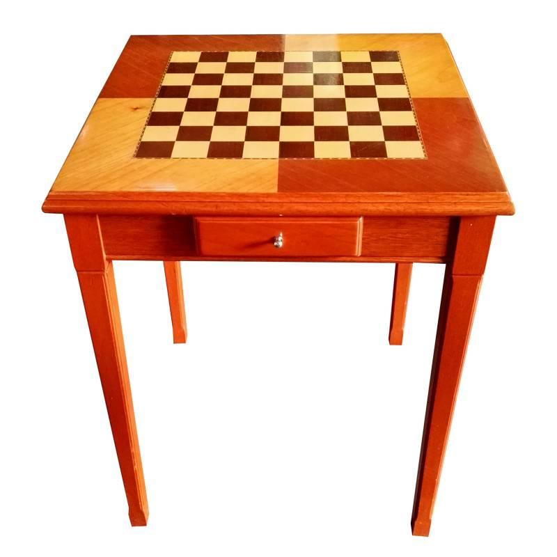 Santa Beatriz - Mesa de ajedrez de 4 patas