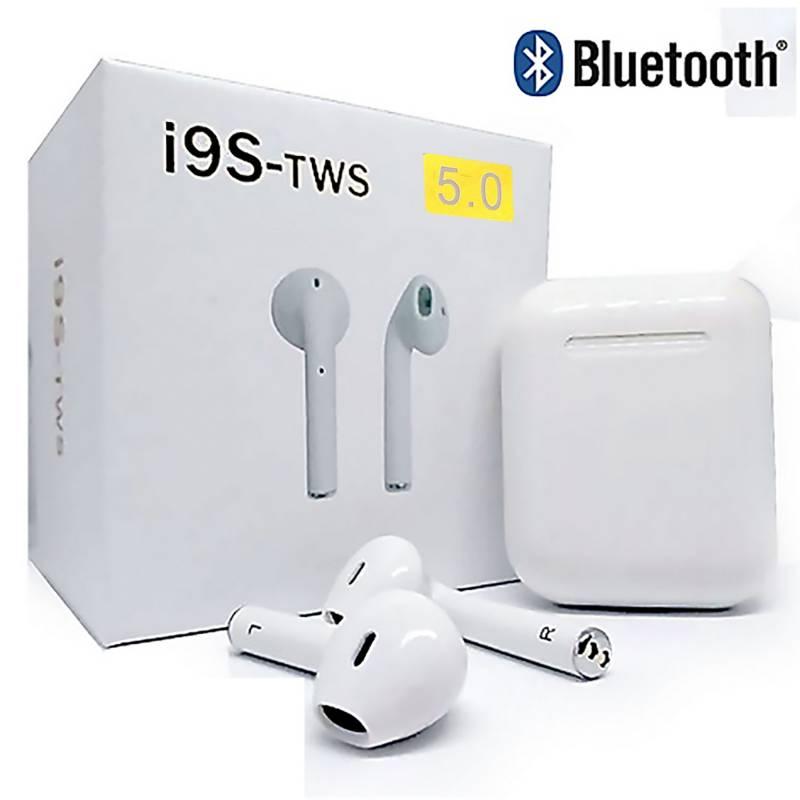STEC - Audífonos Bluetooth Inalambricos I9S Tws C/Carga Portatil 5.0