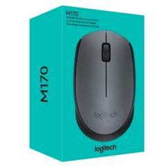 LOGITECH - Mouse Logitech Inalambrico M170 Negro