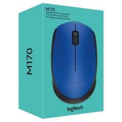 LOGITECH - Mouse Logitech Inalambrico M170 Azul
