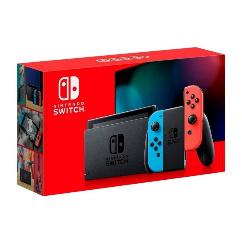 NINTENDO - Consola Nintendo Switch Neon 2019 32GB