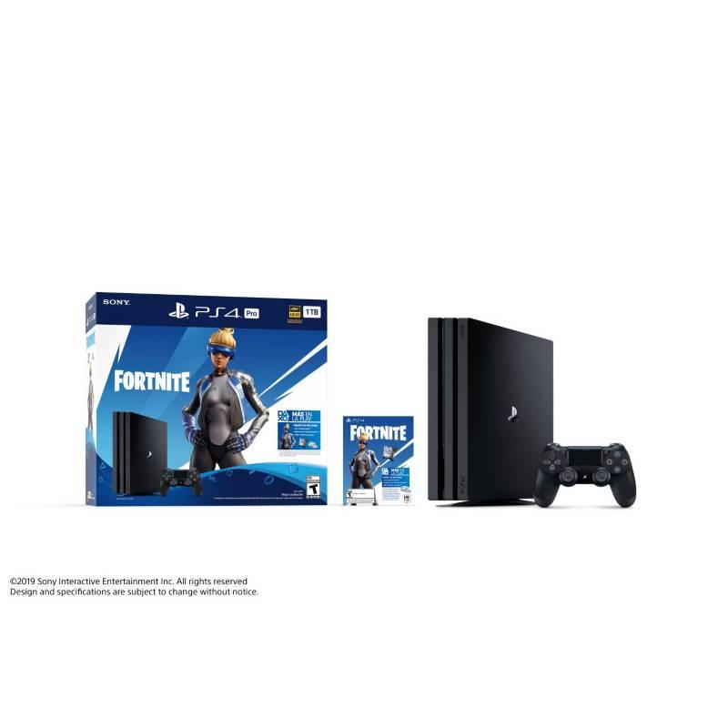 SONY - PS4 HW 1TB Pro Fortnite Bndl