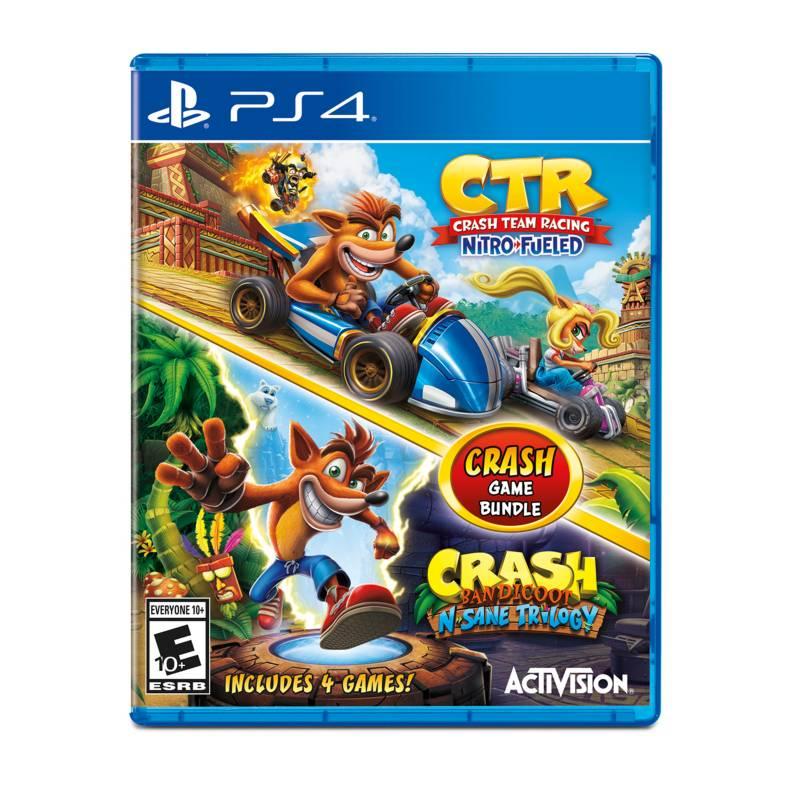 ACTIVISION - Ps4 Jgo Crash N´Sane Trilogy + Crash Team Racing