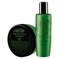 OROFLUIDO - Amazonia Beauty Pack (Shampoo + Mascarilla)