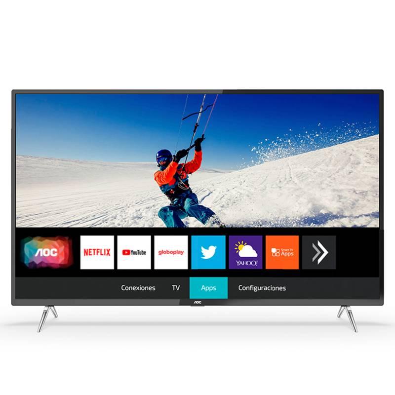 AOC - TV Ultra HD Smart 55 Pulg 55U6295