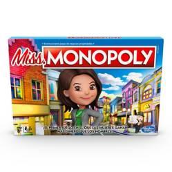 HASBRO GAMES - Miss Monopoly