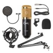 EPIC - Set Microfono Dorado