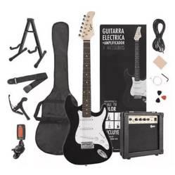EPIC - Pack Guitarra Elecrica Pro Bk