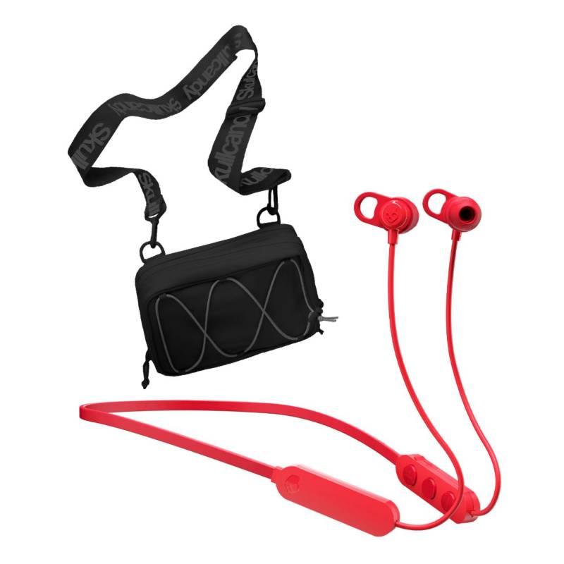 SKULLCANDY - Skullcandy Audifono Jib+ Bt Red+ Sideback