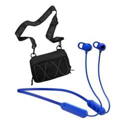 SKULLCANDY - Skullcandy Audífono Jib+Bt Blue+ Sidebag