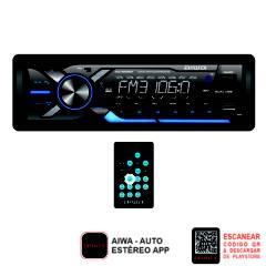 AIWA - Autoradio Bluetooth Usbx2 App Control