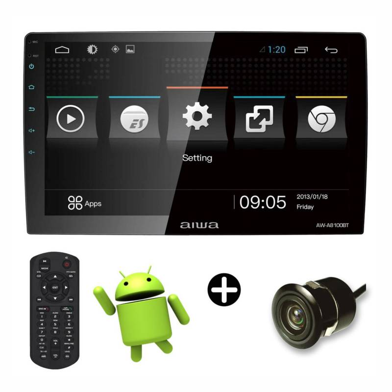 AIWA - Autoradio Android V.8 Led Tactil 10.6""