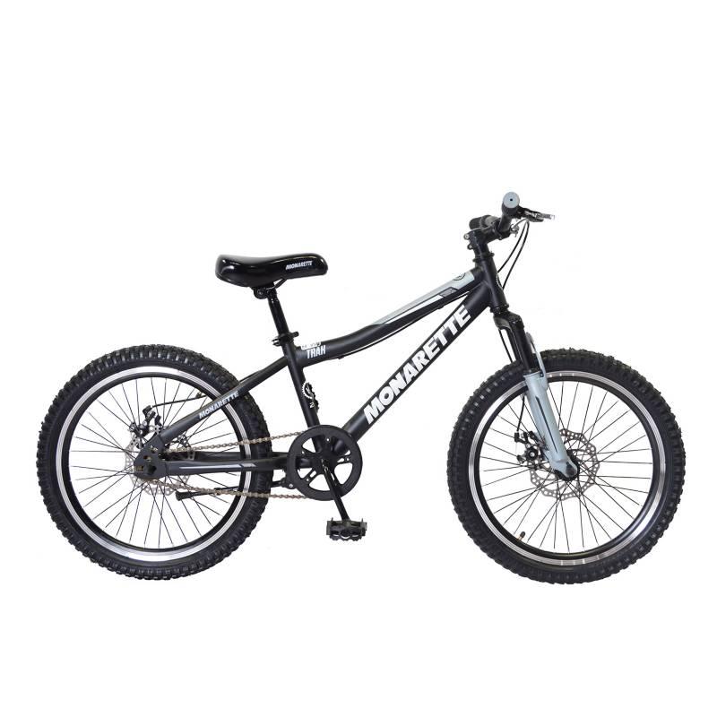 "MONARETTE - Bicicleta Monarette Trax Aro 20"" Negro Gris"