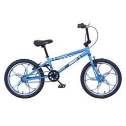 "Monark - Bicicleta Monark Aggresor Aro 20"" Azul"