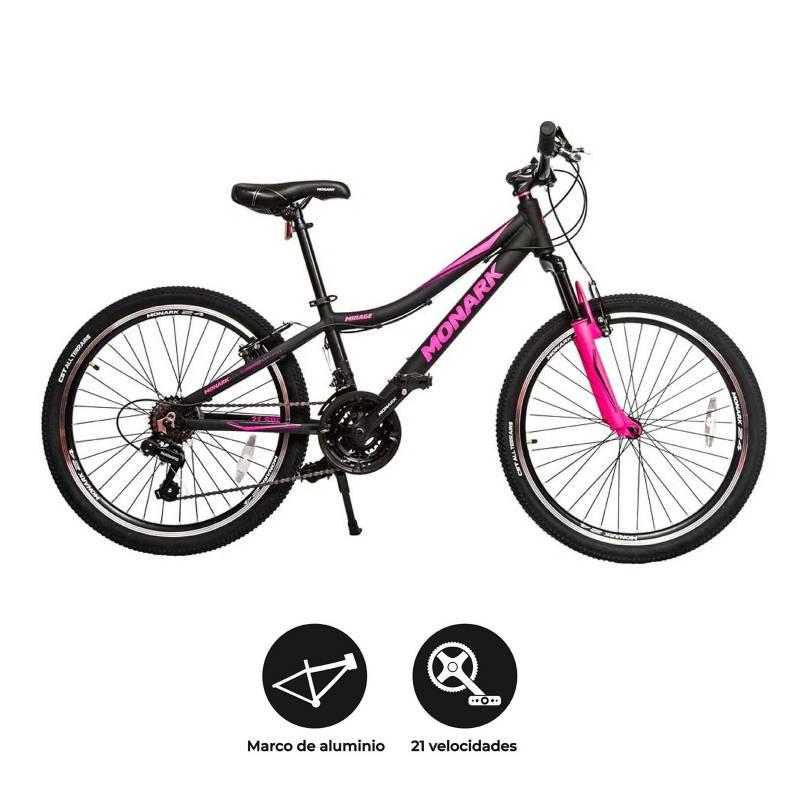 Monark - Bicicleta Montañera Mirage Aro 24 Mujer