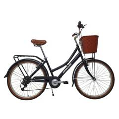 Monark - Bicicleta Monark Turquesa City 6V